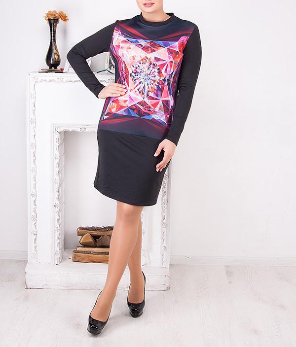 """Женское платье больших размеров """"Альбина"""" от 50 до 62"""