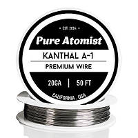 Кантал (Kanthal A1, пр-во Швеция) 20 AWG Gauge, 0,81 мм, 2,67 Ом\метр