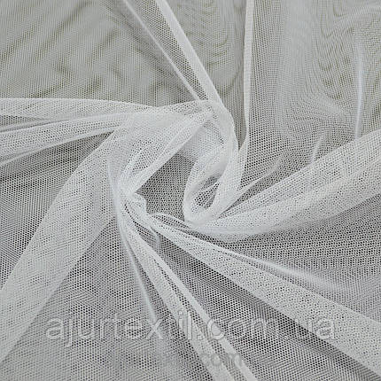 Тюль фатин белый 01, фото 2
