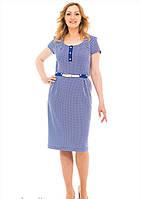 Женское летнее платье, размеры 50 52 54 56