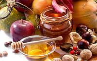 Мед цветочный с клевером (1 литр=1,5кг)