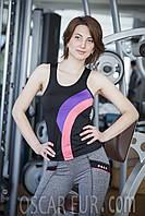 Костюм для занятий фитнесом (верх - майка + низ - лосины)