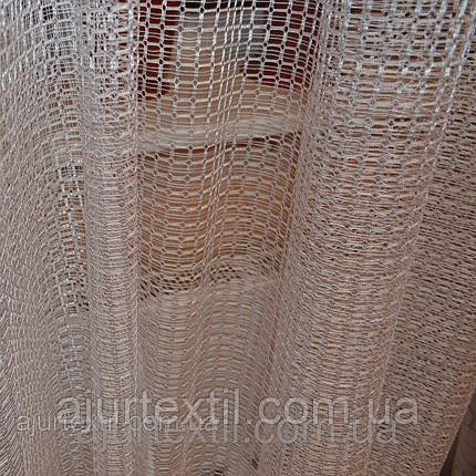 Тюль сетка белая 01, фото 2