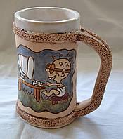 Чашка керамическая - авторская работа глазурь