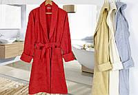 Красивый женский махровый халат без капюшона Irya Wellas