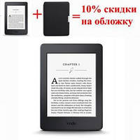 Электронная книга Amazon Kindle Paperwhite 300ppi (2015) 4GB, Wi-Fi, (Certified Refurbished)