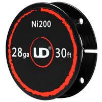 Никелевая проволока NI200 28 AWG, 0,30 мм (Youde) - 10 м