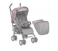 Прогулочная коляска Bertoni I-Moove с чехлом I-Move (grey pink)