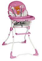 Стульчик для кормления Bertoni JOLLY (pink teddy bear)