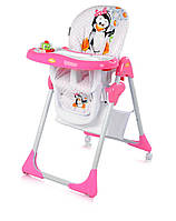 Стульчик для кормления Bertoni YAM YAM (pink penguin)