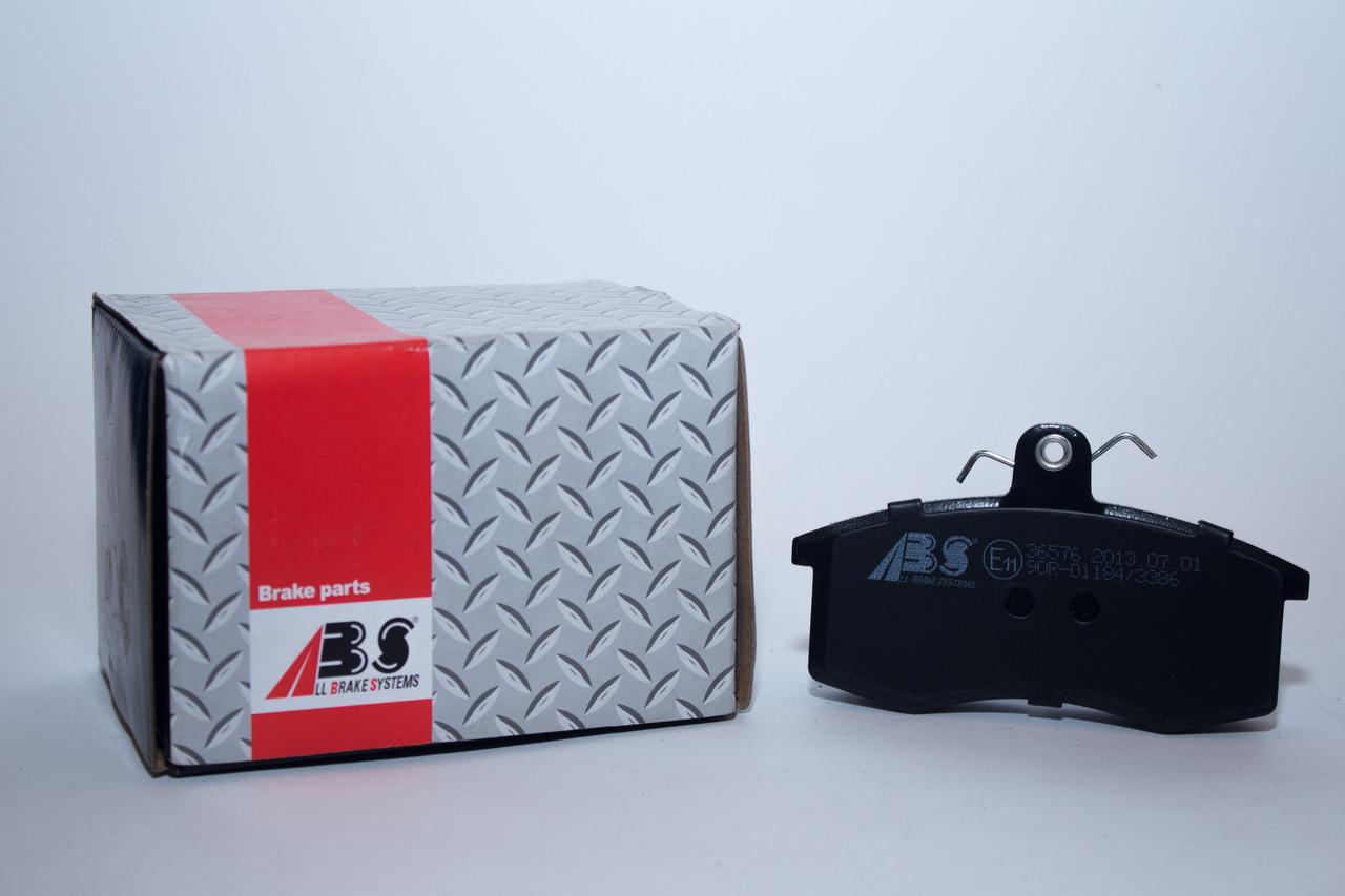 ABS 36576 Тормозные колодки (передние) LADA 2108, 2109, 2110, 2170(Приора), 2117(Калина)