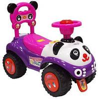 Машинка-каталка Alexis-Babymix 7601 (violet)
