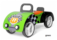 Машинка-каталка из дерева M.Mally Junior (green)