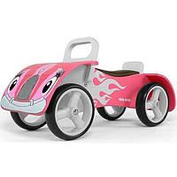 Машинка-каталка из дерева M.Mally Junior (pink)