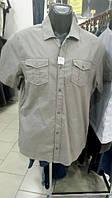 Рубашка мужская короткий рукав 100% хлопок