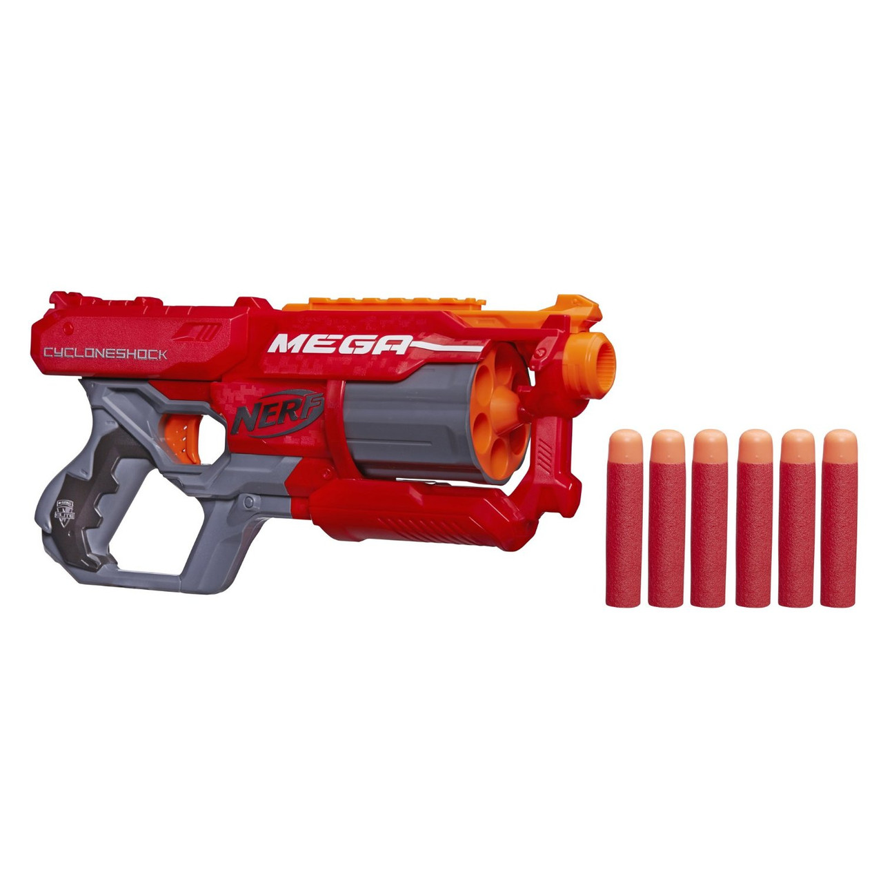 Бластер Nerf N-Strike Циклон-шок Elite Mega CycloneShock Blaster