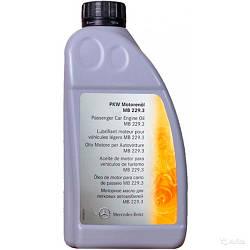 Моторное масло Mercedes-Benz Engine Oil 5W-40 229.3 1л (A000989820110) (00098991)