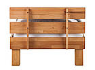 Кровать из массива дерева 018, фото 4