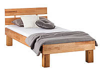 Кровать из массива дерева 018