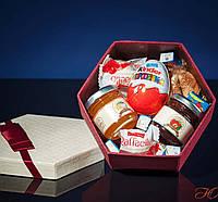"""Подарочный набор """"Вкусные предсказания"""" Гексагон XL"""