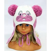 Детская шапка зимняя на девочку