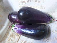 Баклажан, искусственные фрукты и овощи (20/16) (цена за 1 шт. +4 грн.)