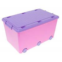 Ящик для игрушек Tega Chomik IK-008 (pink-violet)