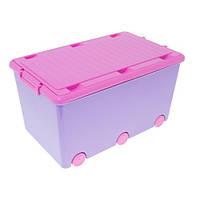 Ящик для игрушек Tega Chomik IK-008 (violet-pink)