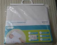 Подушка для маленьких детей Клин в коляску Womar махра