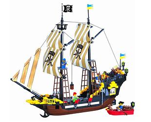 Конструкторы Brick (Брик) пиратская серия