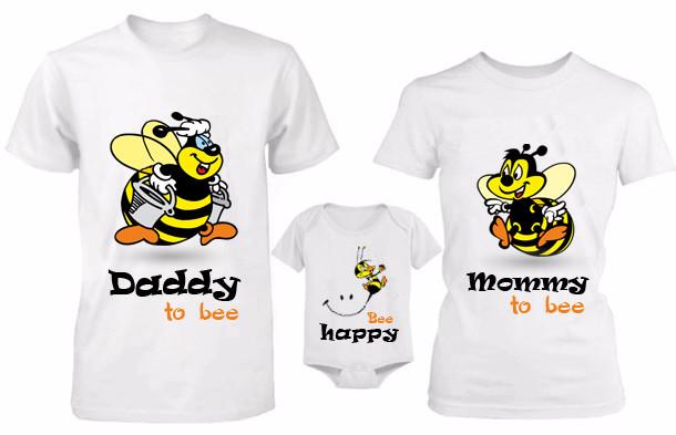 """Парные футболки """"Пчелки"""""""