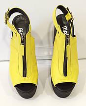 Босоножки женские желтые Ripka 401, фото 2