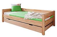 Кровать из массива дерева 020