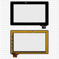 Touchscreen (сенсорный экран) для Prology Evolution Note-700 GPS, 61 pin, оригинал (черный)