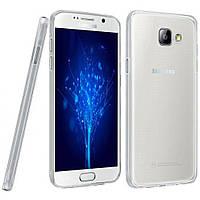 Чехол силиконовый Ультратонкий Epik для Samsung Galaxy A5 (2016) A510 прозрачный