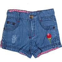 Шорты джинсовые для девочек на лето