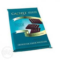 Шоколад  экстра черный  Cachet extra dark chocolate 0,300 гр