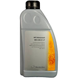 Моторное масло Mercedes-Benz Engine Oil 5W-30 228.51 LT 1л (A000989940110)