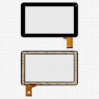 Touchscreen (сенсорный экран) для Freelander PD50/PD60 (#QSD 1303 E-C900), 50 pin, оригинал (черный)