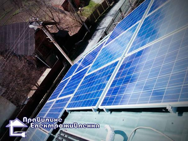 Мережева сонячна електростанція 10 кВт, ( м. Івано-франкіськ ) 1