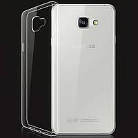 Чехол силиконовый Ультратонкий Epik для Samsung Galaxy A7 (2016) A710 прозрачный