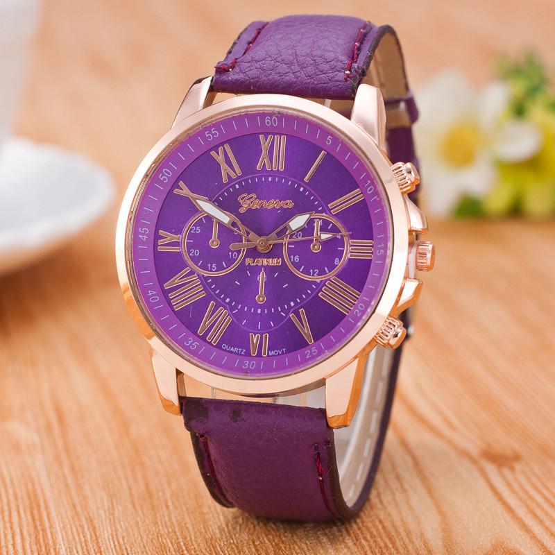Часы женские Geneva Rosonse purple