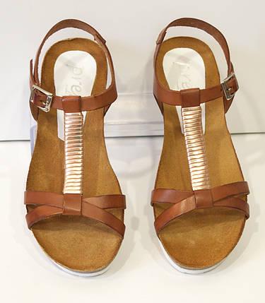 Босоножки женские кожаные Presso 3405, фото 2