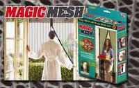 Антимоскитная шторка на магнитах Magic Mesh 100х210 бежевые