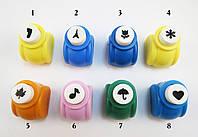 Фигурные дыроколы для скрапбукинга, Цвет: Микс, Упаковка: 1 шт. В наличии: №1, №2 і Медвежонок