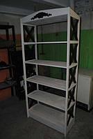 Эксклюзивные этажерки (стеллажи) деревянные под заказ, фото 1