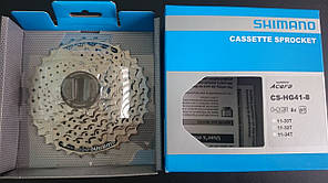 Shimano Acera Kassette CS-HG41-8 8 cкоростей