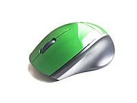 Беспроводная компьютерная мини мышка (Зеленая), фото 1