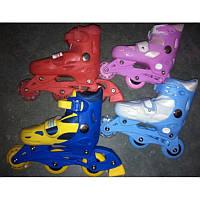 Ролики светящиеся раздвижные Baby TillyBT-RS-0001 размер S (31-34) PVC колеса