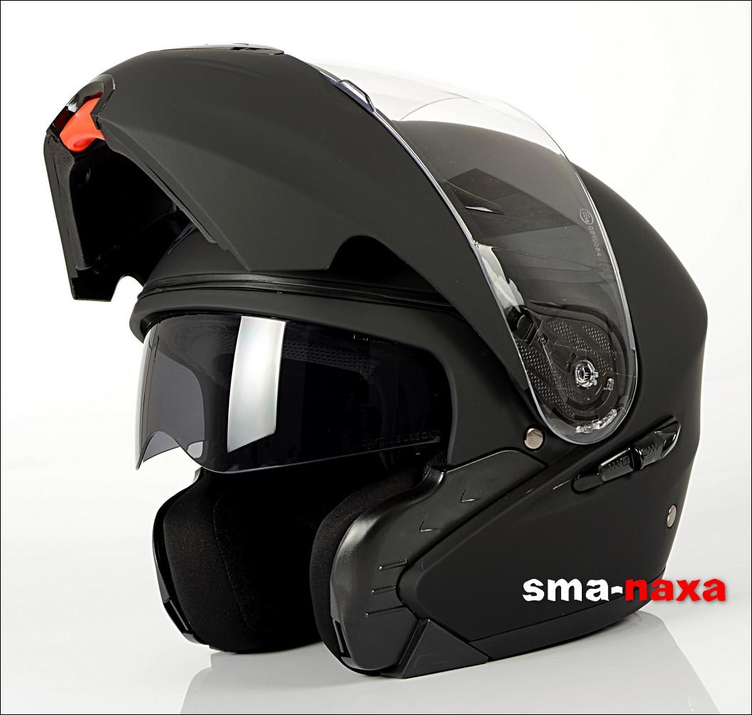 Мотоциклетный шлем NAXA FO2B / M Черный